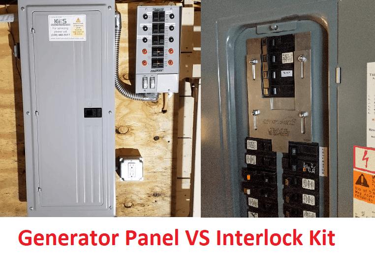 Generator Panel vs. Interlock Kit